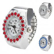 эллипс кружевной женщин сплава корпус часов аналоговых кварцевых часов кольца (разных цветов)