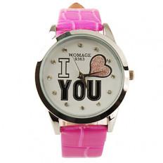 я тебя люблю наручные часы карти..