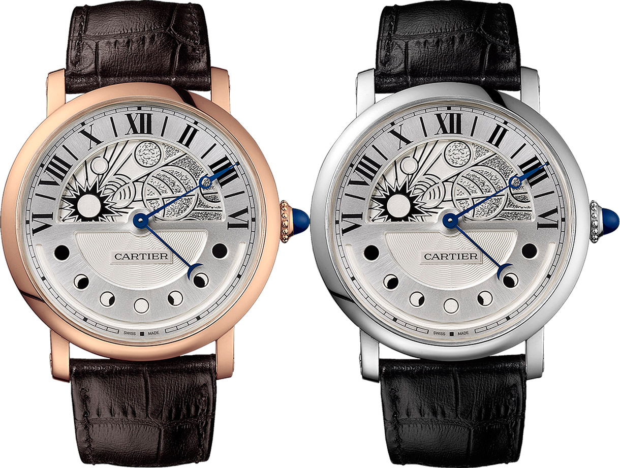 Rotonde de Cartier Day and Night от Cartier на SIHH-2014